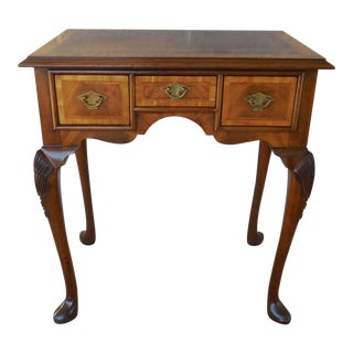 Hickory Chair Historic James River Plantation Mahogany Banded Console Table