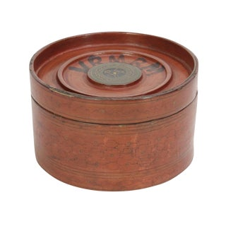 Antique Monk Grain Box