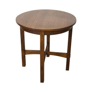 Stickley Mission Oak Side Table