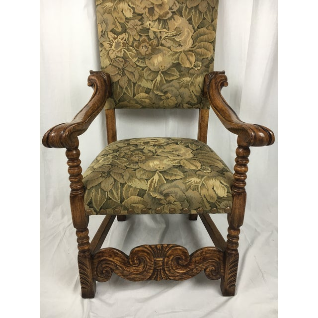 Spanish Arm Chair - Image 3 of 11
