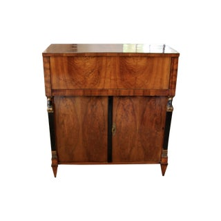 Antique Empire Regency Chest/Bar