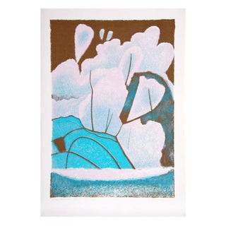 Thomas F. Meehan - Snow Blossoms Serigraph