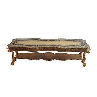Hollywood Regency Eglomise Coffee Table