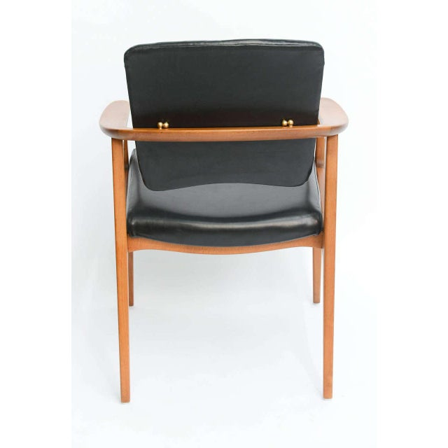 Sigvard Bernadotte Teak Lounge Armchair for France & Daverkosen - Image 5 of 9