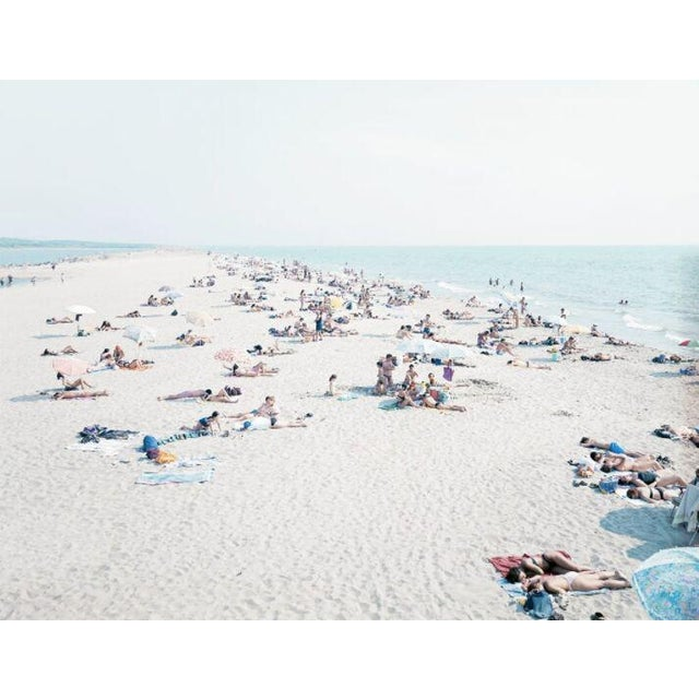 """04 Vecchiano from """"A Portfolio of Landscapes with Figures"""" color photography by Massimo Vitali - Image 2 of 3"""