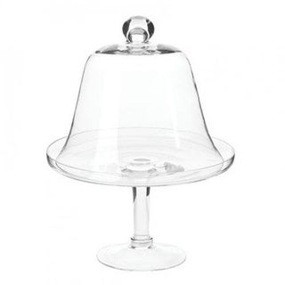 Glass Cake Stand With Dome Cover