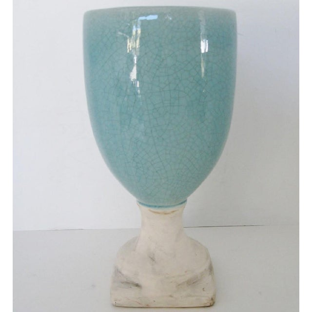 Ceramic Glazed Urn Vase - Image 3 of 6
