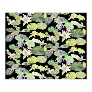 Voutsa Wallpaper - Lotus on Black