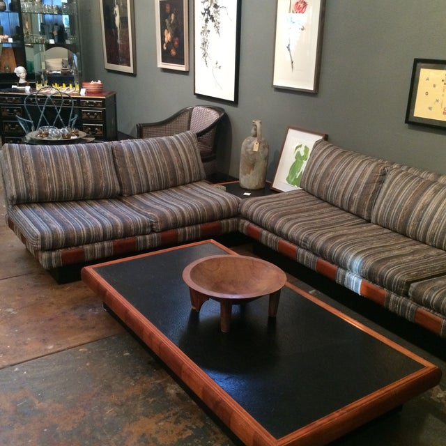 1960s Adrian Pearsall Platform Sofa and Table Set - Image 3 of 10