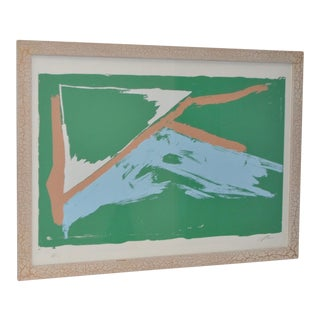 """""""AP"""" Abstract Lithograph"""
