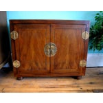 Image of Mid-Century Asian-Style Cabinet