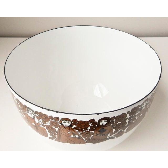 Image of Kaj Franck Medieval Design Enamelware Bowl