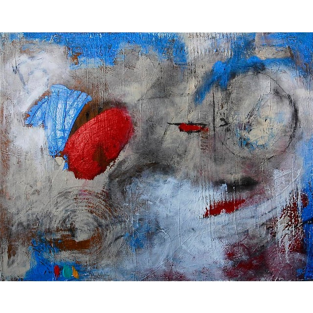 "Taffi Laing ""Poem"" Abstract Original Painting - Image 8 of 8"