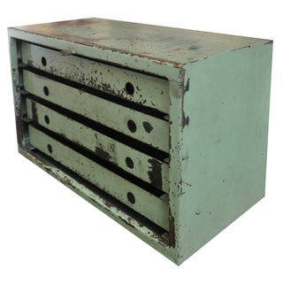 Vintage Industrial Mechanic's Chest