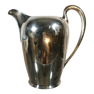 Mid-Century Silver Plate Pitcher