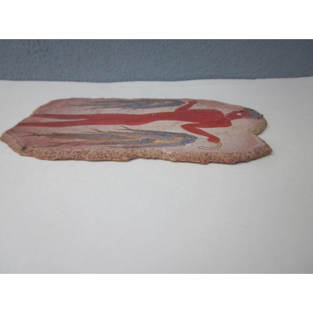 Fisherman Fresco Hand Made Greece - Image 8 of 10