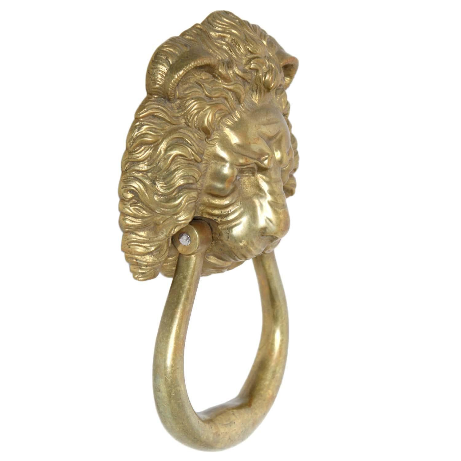 Lion Head Door Knocker - Image 3 of 3