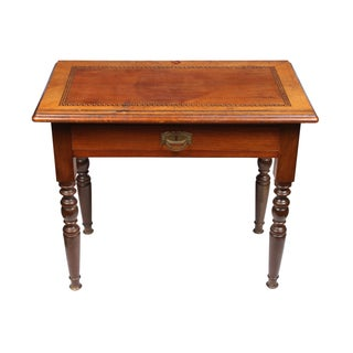 19th-C. Scandinavian Inlaid Work Table