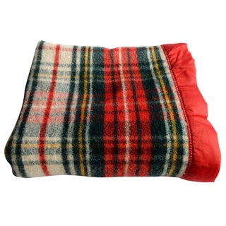 Pearce Red Plaid Blanket