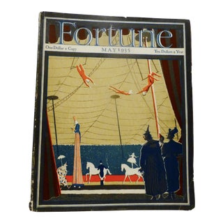 May 1935 Circus Cover Fortune Magazine
