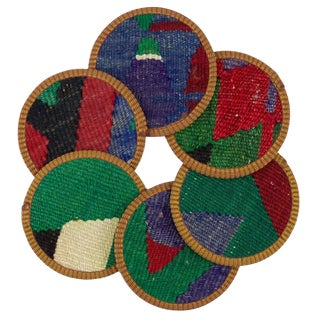 Rabia Kilim Coasters - Set of 6