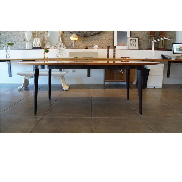 Edward Wormley Dinning Table - Image 5 of 9