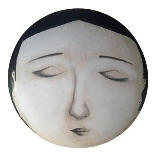 Fornasetti-Style Face Wall Art