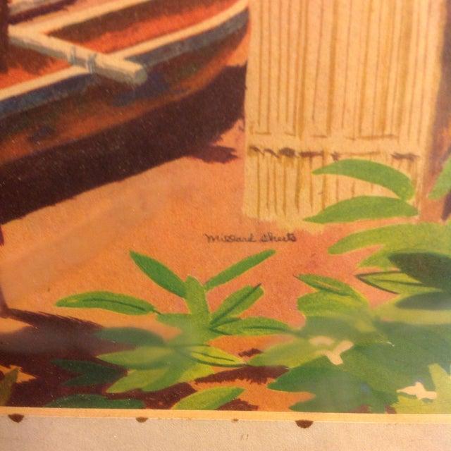 Millard Sheets Original 1947 Signed Lithograph - Image 3 of 3