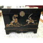 Image of Vintage Chinese Laquered Chests - A Pair