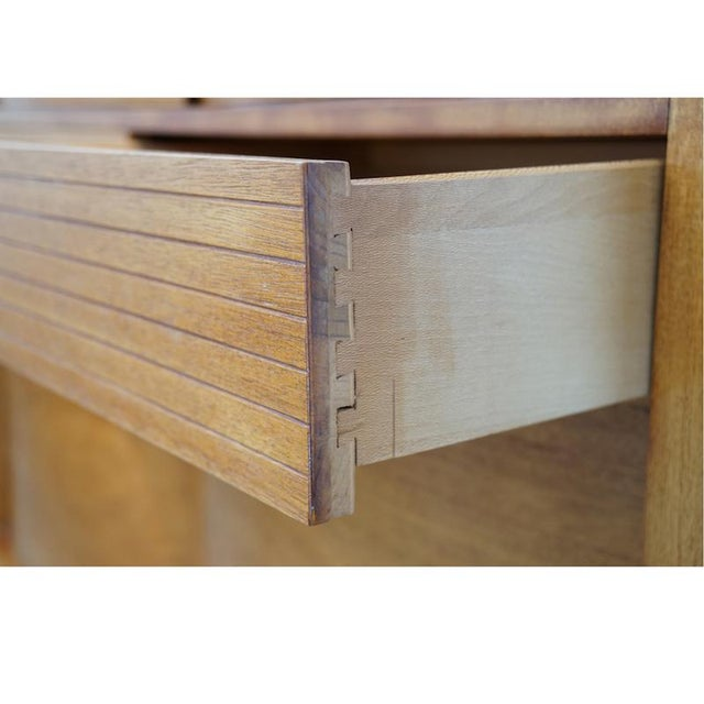 Teak Bow Front Cabinet - Image 7 of 7