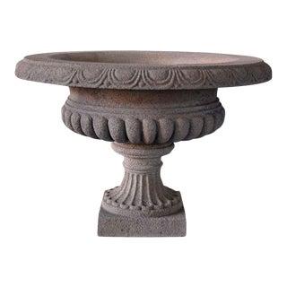Stone Vase Planters - a Pair