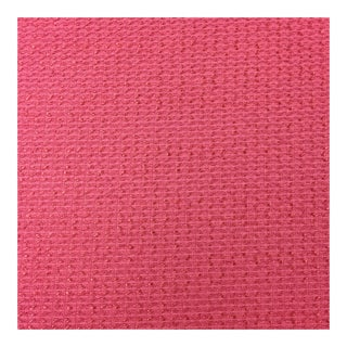 Woven Pink Fabric - 11 Yards