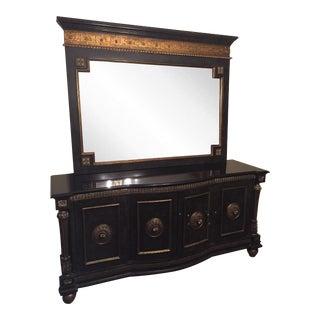 Granite Top Server With Mirror