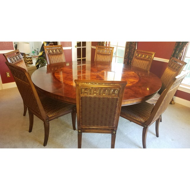 henredon dining room set chairish