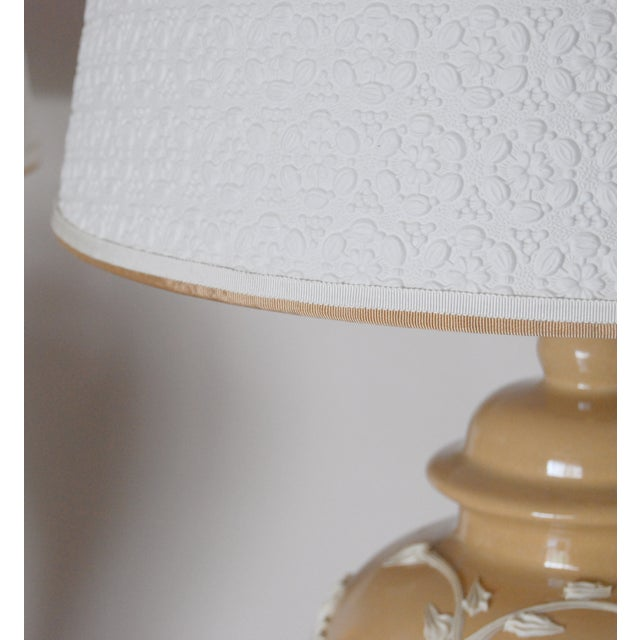 Dorothy Draper Style Lamps - Pair - Image 5 of 6