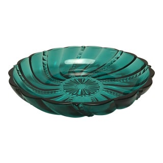 Mid-Century Emerald Green Candy Dish