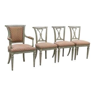 Swedish Neoclassical Chairs - Set of 4