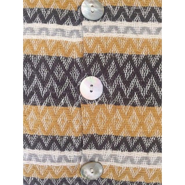 West Elm Silk Jacquard Hand-Woven Pillows - A Pair - Image 9 of 11
