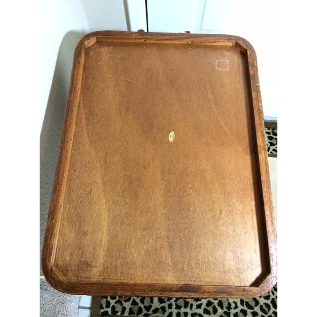 Vintage Rattan Folding Mini Bar - Image 8 of 8