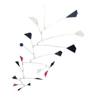 Calder-Style Enamel Mobile