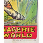 "Image of ""Largest Menagerie in World!"" Circus Poster"