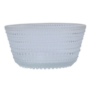 French Crystal Bubble Bowl