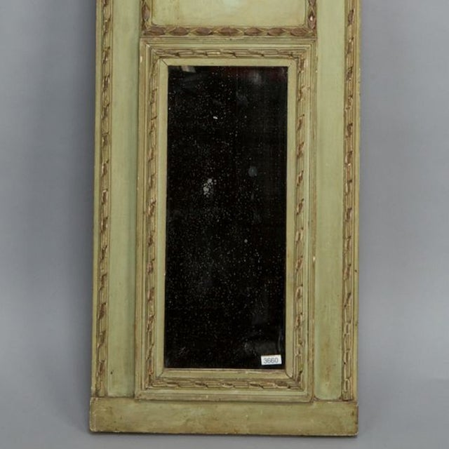 Image of 1930s Italian Narrow Trumeau Mirror
