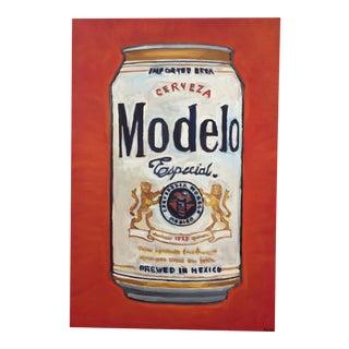 """Peter Geizler """"Modelo Especial"""" Original Painting"""