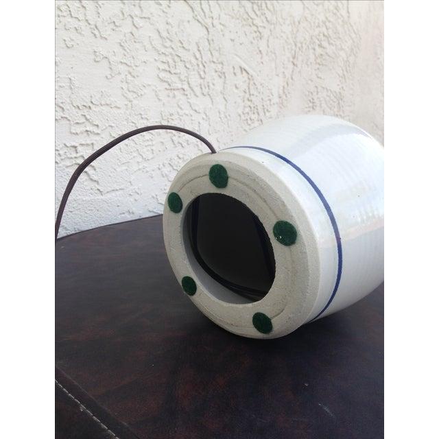 Stoneware Ceramic Lamp - Image 4 of 5
