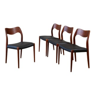 Niles Moller Model 71 Dining Chairs - Set of 4