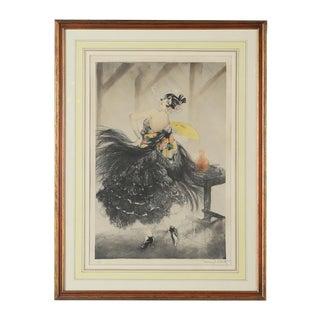 """Louis Icart """"Carmen Flamenco Dancer"""" 1928 Print"""