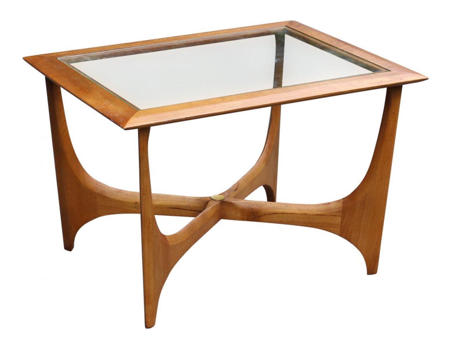 Lane Atomic Mid Century Style Side Table