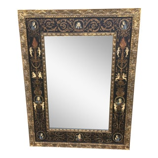 Large Classically Themed Wall Mirror