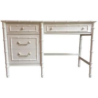Thomasville Faux Bamboo Desk